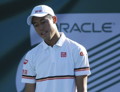 Kei Nishikori. (Jeff Gross/Getty Images/AFP)