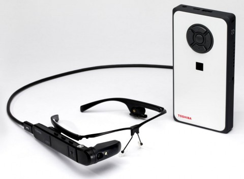 Toshiba dynaEdge AR Smart Glasses.
