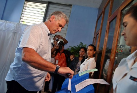 Miguel Diaz-Canel, likely leader of post-Castro Cuba (Photo: AFP).
