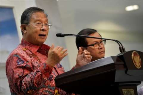 Coordinating Minister for Economic Affairs Darmin Nasution (Photo: AntaraYudhi Mahatma)