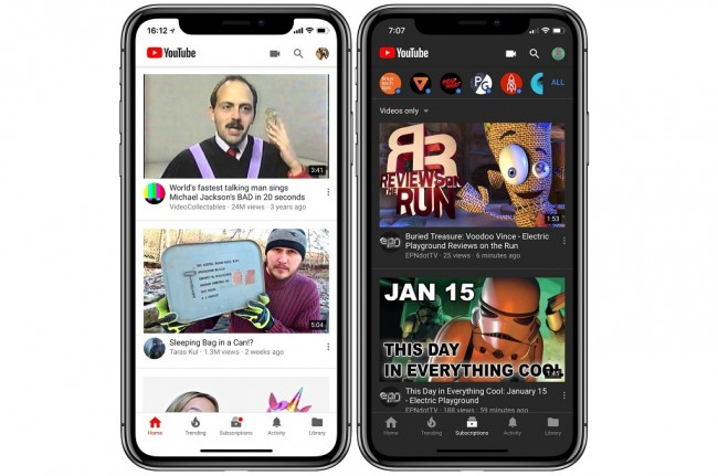 YouTube Pasang Pembaruan Eksklusif di iOS