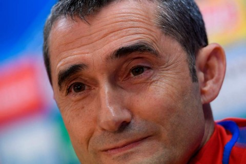 Ernesto Valverde. (AFP PHOTO / LLUIS GENE)