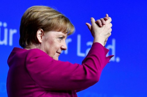 A right-wing populist rise in Germany's September election deprived Chancellor Angela Merkel of a majority, forcing her into another unhappy alliance with the centre-left Social Democrats. (Photo:AFP/Tobias Schwarz)