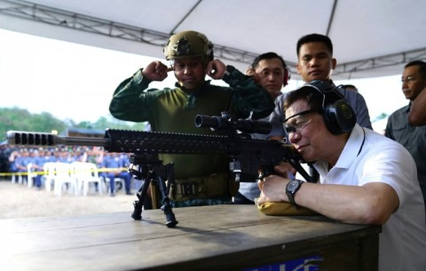 Duterte is infuriated the ICC has opened a preliminary investigation into his deadly drug war. (Photo:AFP/Jay Dalumpines)