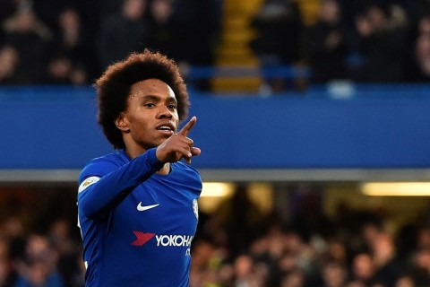 Willian (AFP PHOTO / Glyn KIRK)