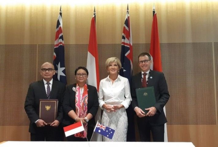 Indonesia-Australia Sign Maritime Cooperation Plan of Action