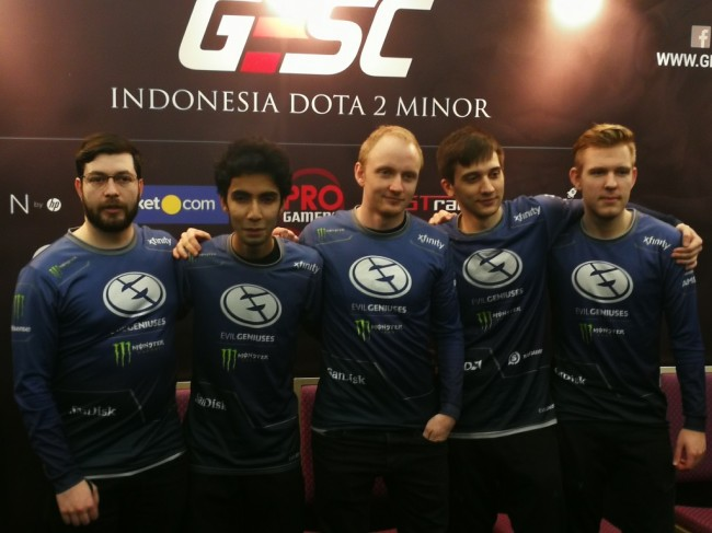 Evil Geniuses Juarai GESC: Indonesia Dota 2 Minor