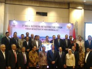 India dan Indonesia Gelar Forum Infrastruktur ke-1