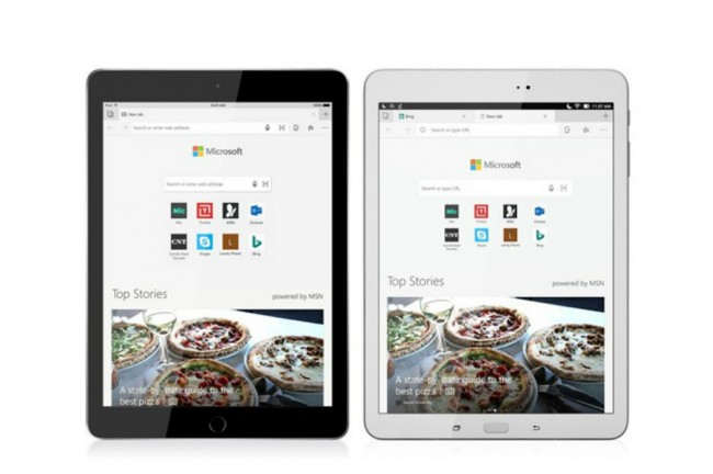 Microsoft Edge Kini Dukung iPad dan Tablet Android