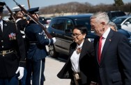 Marsudi Meets US Defense Secretary at Pentagon