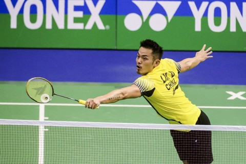 Lin Dan. (AFP PHOTO / ISAAC LAWRENCE)