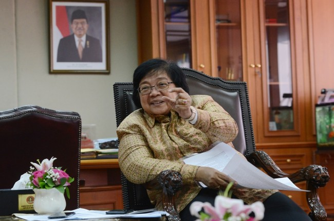 Minister Siti Leads Indonesian Delegation at Meeting With EU