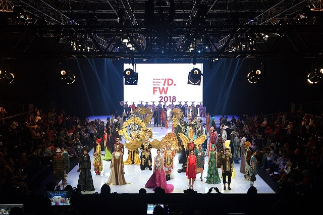 Indonesia Fashion Week 2018 Resmi Dibuka