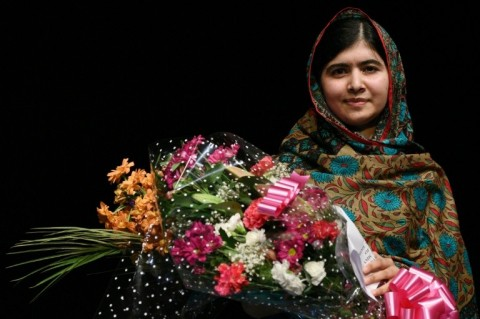 Pakistani activist Malala Yousafzai received the Nobel Peace Prize in 2014 for her work promoting children's rights. (Photo:AFP/Oli Scarf)