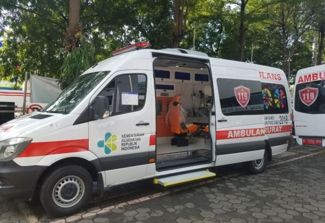Sambut Asian Games, Kemenkes Sediakan 25 Ambulans ICU