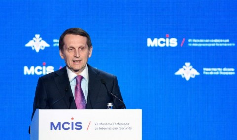 Foreign Intelligence Service head Sergei Naryshkin warned against escalating tensions to Cold War levels. (Photo:AFP/Alexander Nemenov)