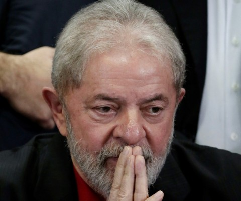 Luiz Inacio Lula da Silva is seeking a third term as Brazil's president and leads easily in opinion polls, but the Supreme Court's rejection of his effort to delay a prison sentence for corruption throws his electoral bid into doubt. (Photo:AFP/Miguel Sch