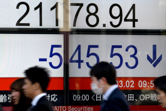 Tokyo Stocks Opened Flat as Yen Eased Modestly Against Dollar