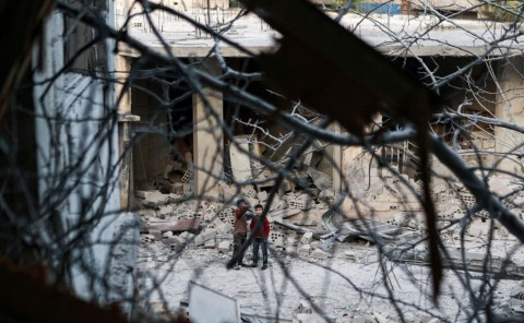 Syria torn by civil war since 2013 (Photo: AFP).