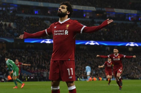 Mohamed Salah (Foto: AFP PHOTO / PAUL ELLIS)