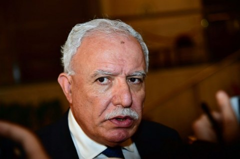 Palestinian Authority Foreign Minister Riyad al-Maliki (Photo: AFP).