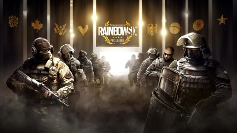 TOm Clancy's Rainbow Six: Siege.