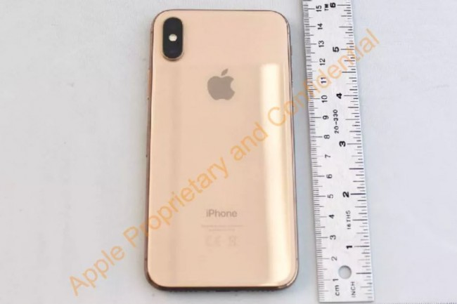 Apple Punya iPhone X Warna Emas