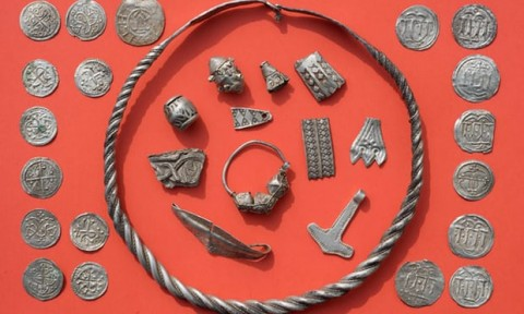 Boy Unearths Legendary Danish King's Trove in Germany. (Photo:AFP/Getty Images/Stefan Sauer)