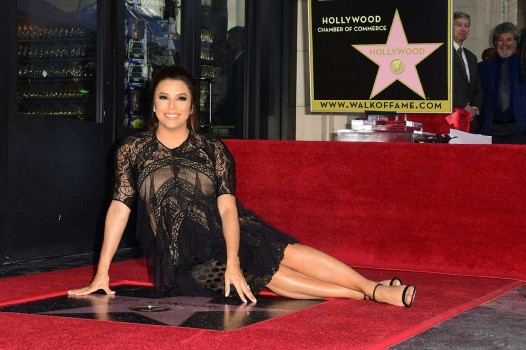 Eva Longoria Peroleh Bintang di Hollywood Walk of Fame