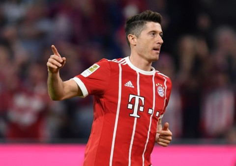 Robert Lewandowski  (Foto AFP/CHRISTOF STACHE)