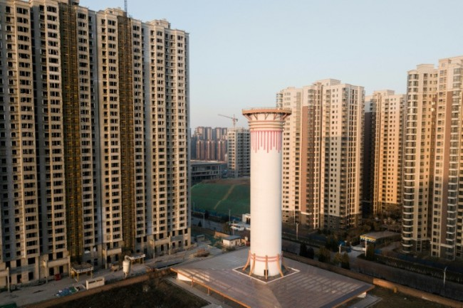 China Fights Big Smog with Big Air Purifier