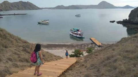 View from Komodo Island National Park (Photo: Media Indonesia).