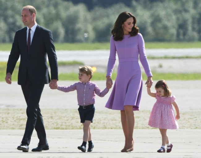New Son for Britain's Prince William and Kate