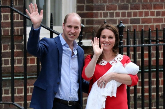 Prince William and Kate Name Baby Son Louis