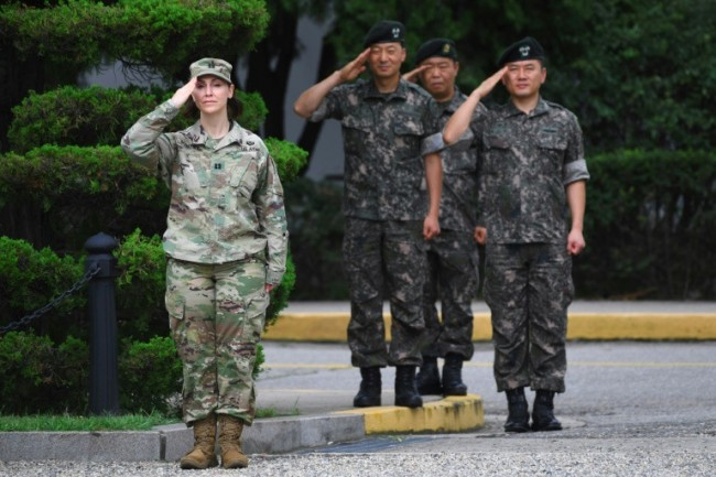 US Troop Withdrawal not Linked to Possible Peace Treaty: South Korea