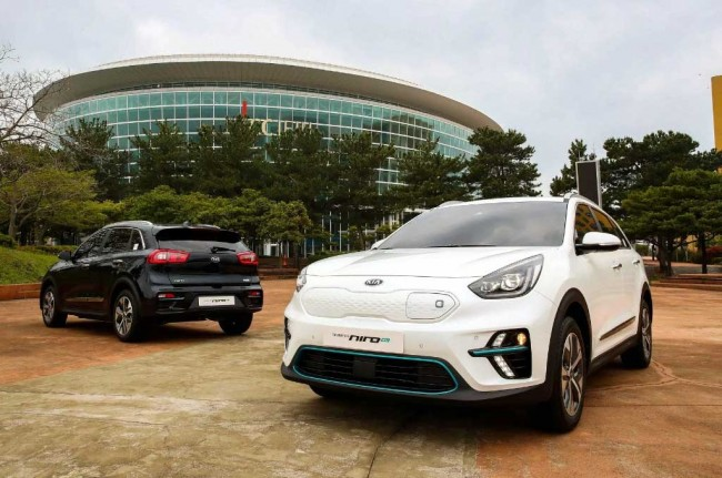 Kia EV Niro Mejeng di Electric Vehicle Expo