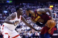 Play Off NBA: Cavaliers Unggul 2-0 Atas Raptors