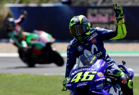 Valentino Rossi (AFP PHOTO / JAVIER SORIANO)