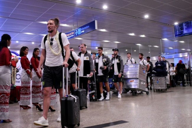 Leeds United Arrive for Controversial Tour of Myanmar