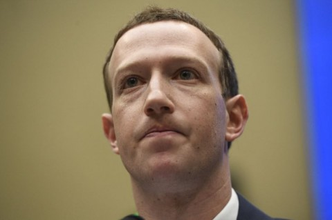 Facebook chief Mark Zuckerberg tells the US House Committee on Energy and Commerce how the company will boost personal data protection as the EU's General Data Protection Regulation (GDPR) comes into effect May 25. (Photo:AFP/Saul Loeb)