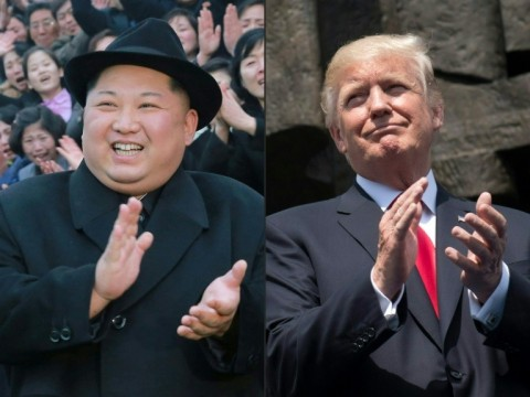 North Korean leader Kim Jong Un and US President Donald Trump are due to meet in Singapore on June 12, but Pyongyang has thrown the meeting into doubt. (Photo:AFP/Saul Loeb, KCNA via KNS)