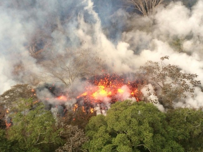 Biggest Eruption at Hawaii Volcano since It Became More Active