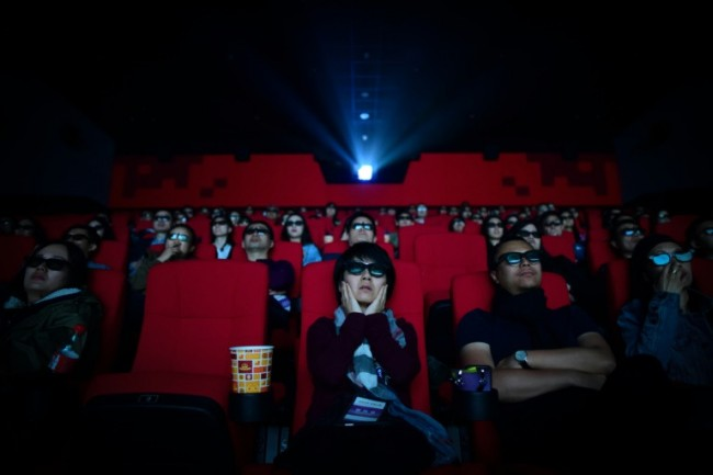 China Box Office Tops North American Market in First Quarter