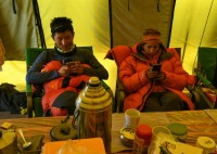 Baked Goods and Wi-Fi Bring Everest Closer to Home