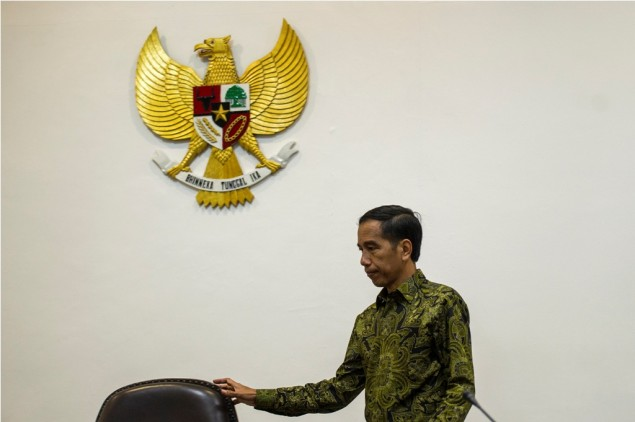 Jokowi Holds Cabinet Meeting over Upcoming Asian Games
