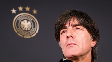 Joachim Loew. (Christian Charisius / Germany OUT)