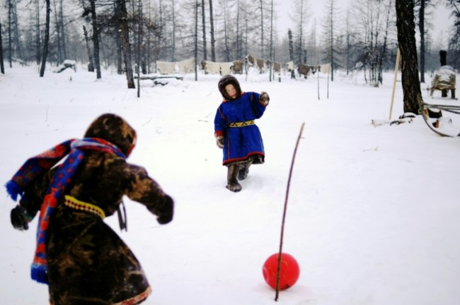 Football Fever Raising Temperature in Russia's Frozen Arctic