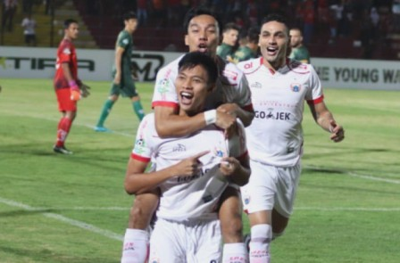 Tanpa Simic, Persija Pesta Gol ke Gawang PS Tira