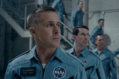 Ryan Gosling dalam First Man (universal pictures)