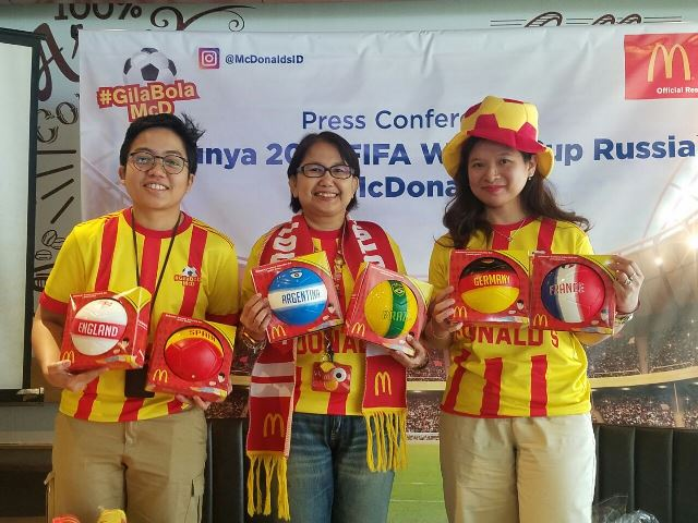 Program #GilaBolaMcD, Menambah Keseruan FIFA World Cup 2018